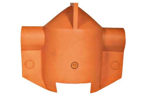 Cobertura de Borracha para Isolador de Pino com Sistema SU - LRG