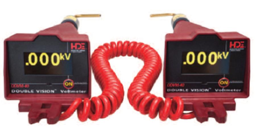 Voltimetro Medidor de Fase (Fasímetro) - DDVM-40