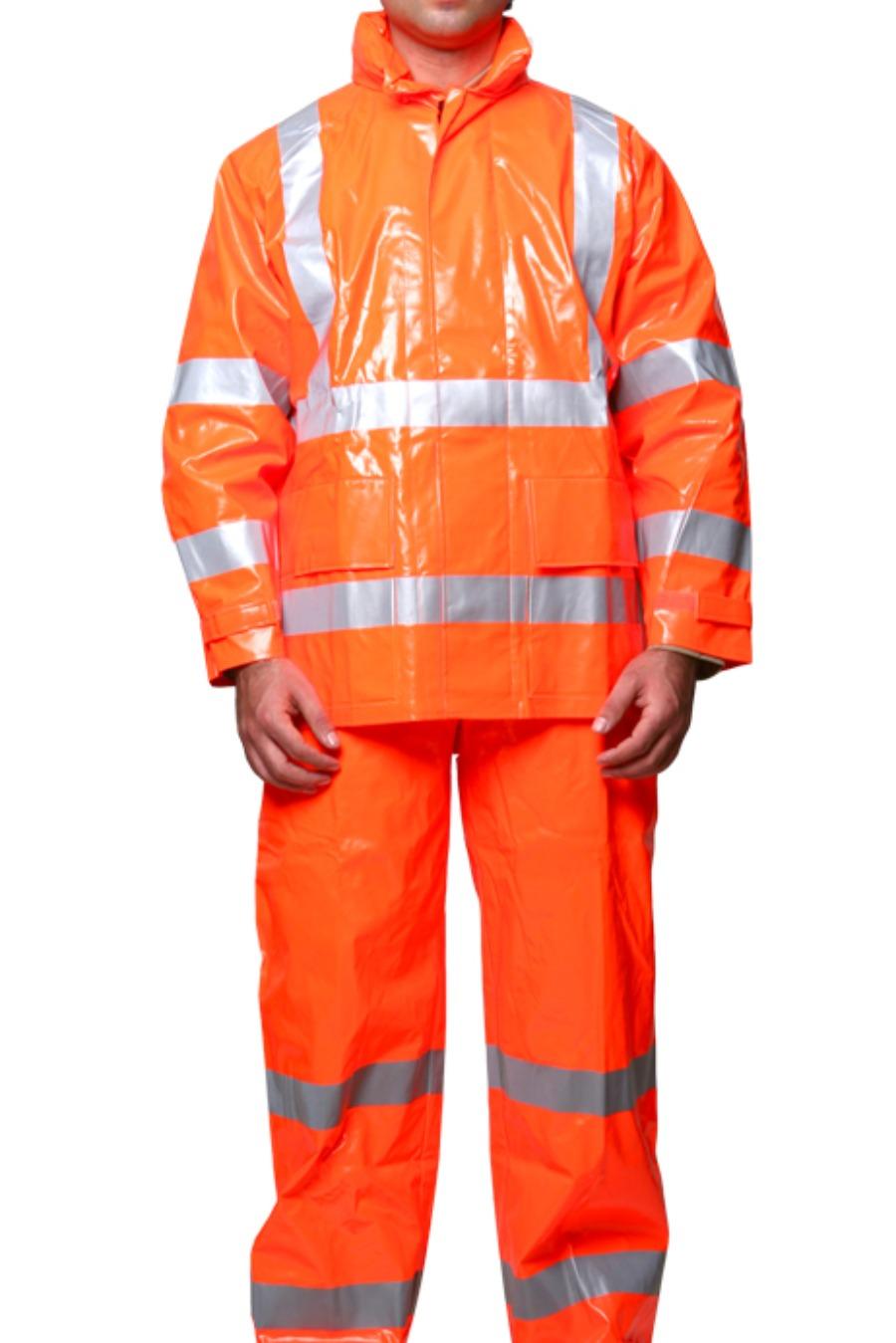 Jaqueta de Segurança Impermeável