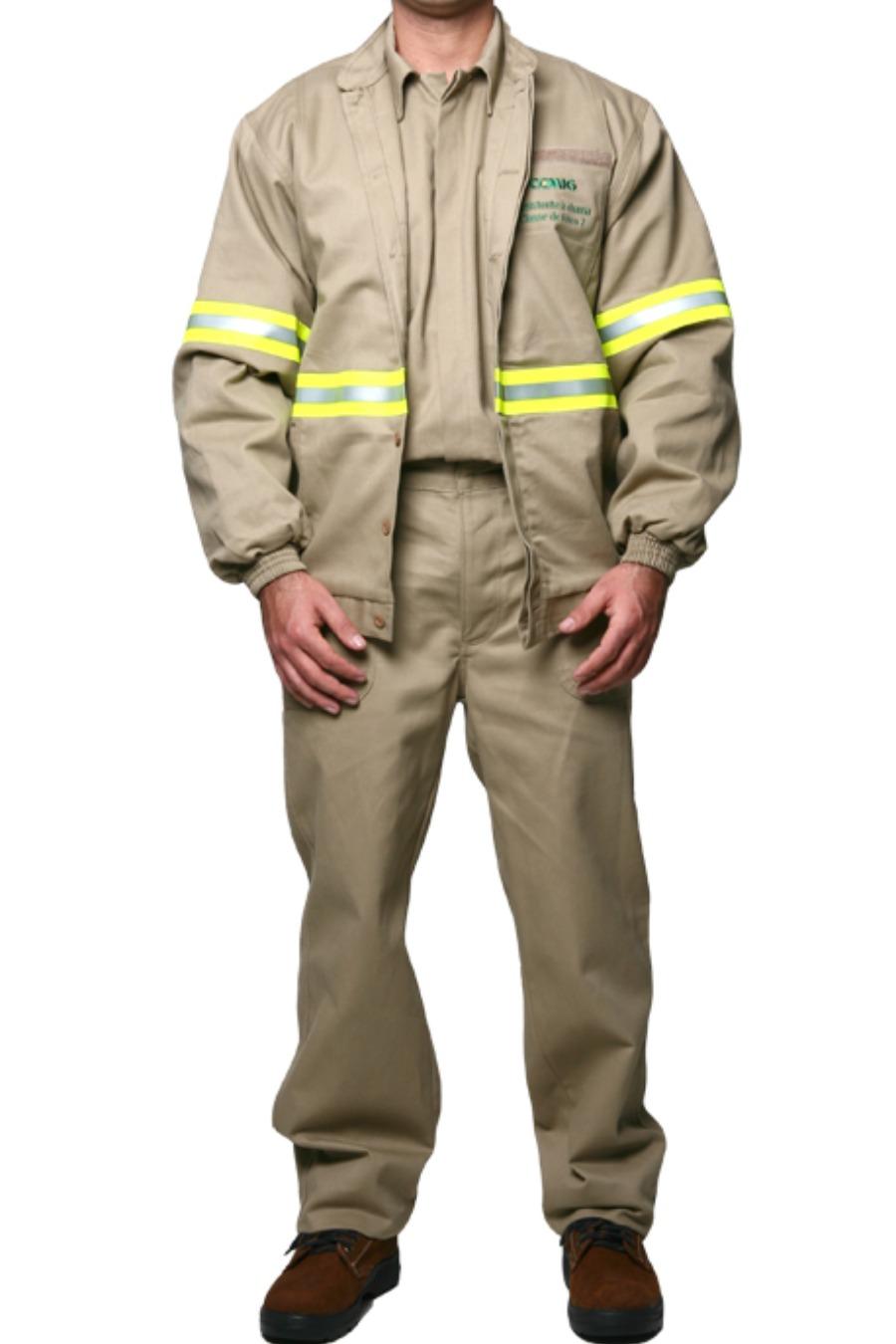 Jaqueta de Segurança 37 CAL/CM² - Risco III