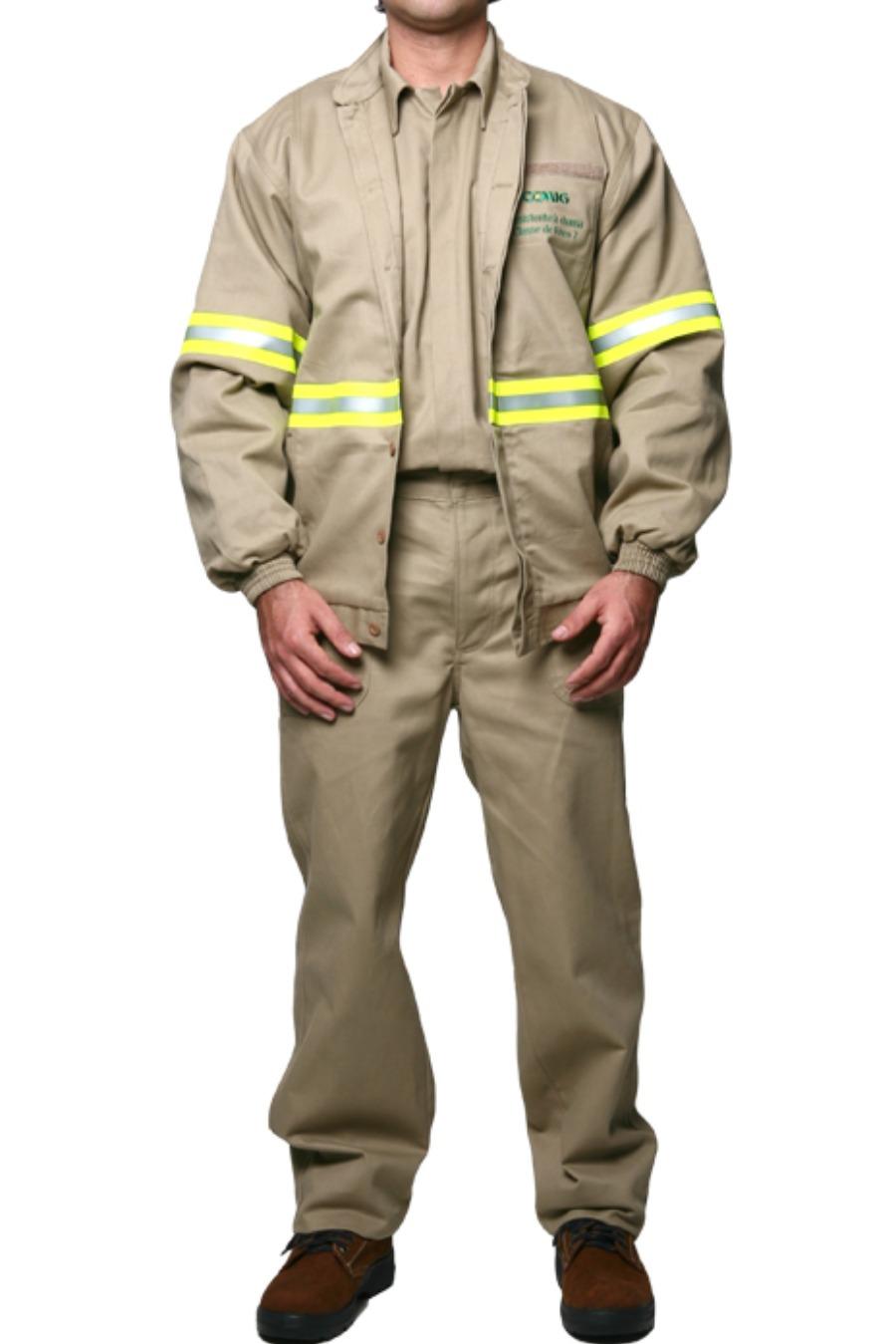 Jaqueta de Segurança 8,9 CAL/CM² - Risco II