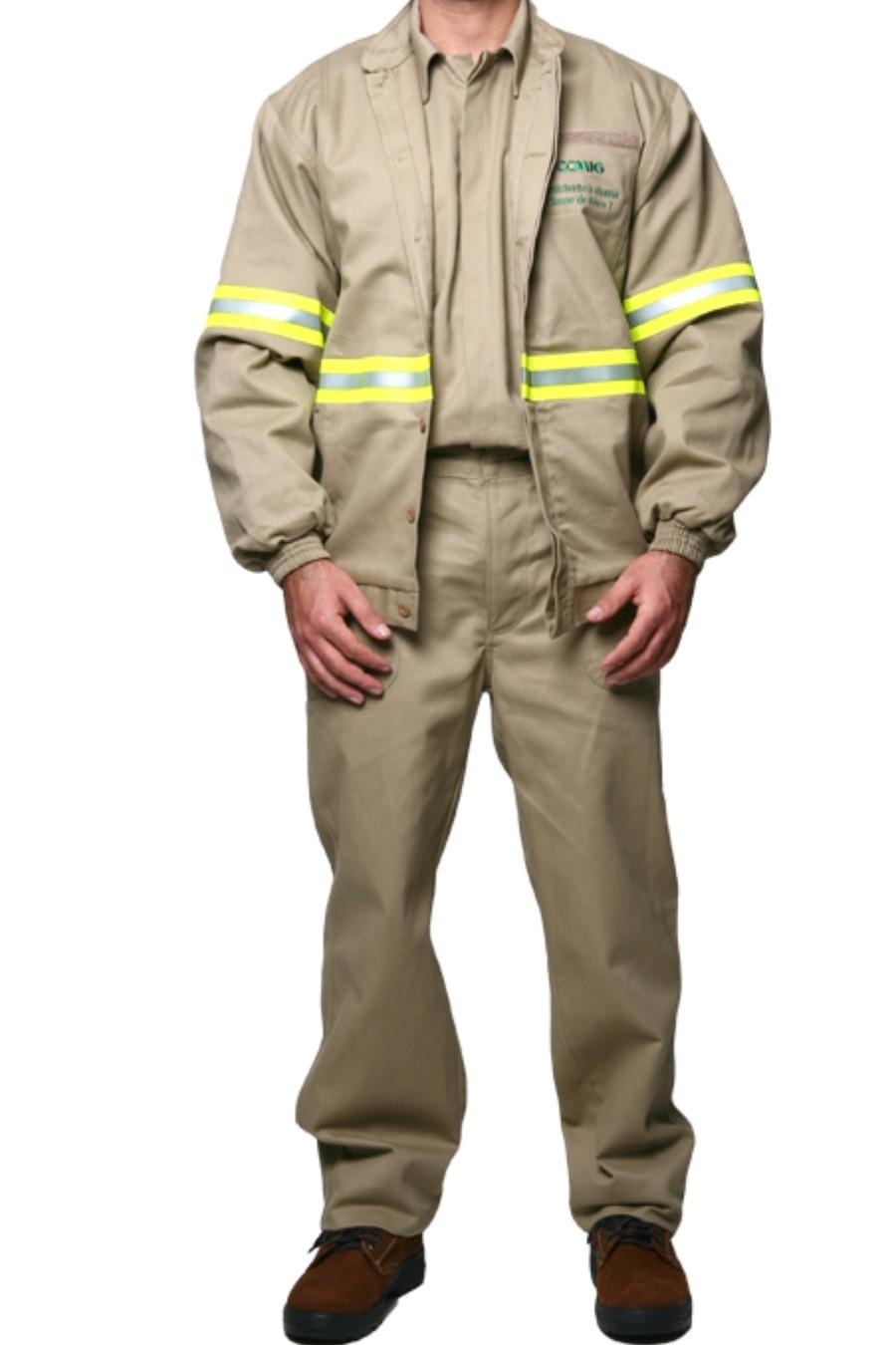 Jaqueta de Segurança 10,0 CAL/CM² - Risco II