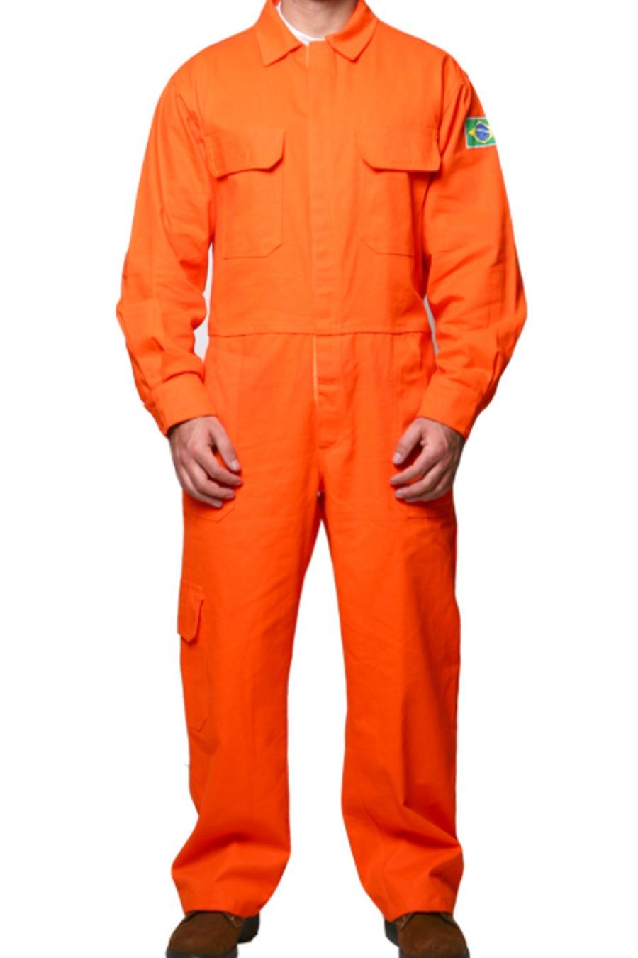 Macacão de Segurança 8,9 CAL/CM² - Risco II - Linha Flashwear