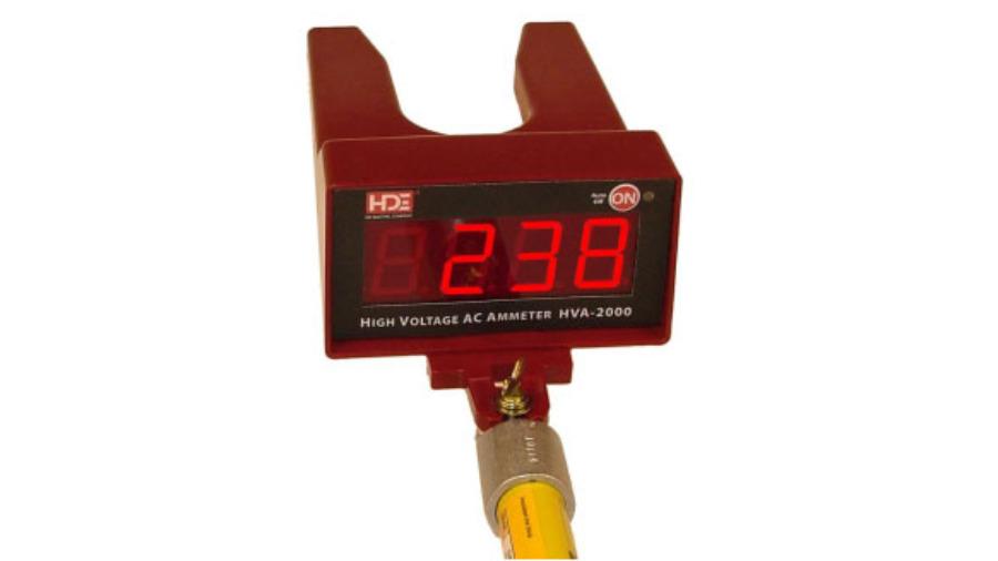 Amperímetros Digitais de Alta Tensão - HVA-2000