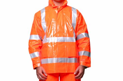 Jaqueta de Segurança Impermeável Anti-Chama