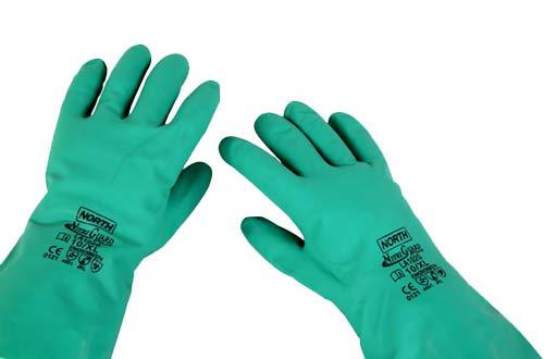 5ebe25c7a8bc5 Leal - EPI - Proteção das Mãos e Braços - Luvas Nitrílicas - Luva ...