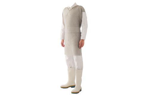 Vestimenta tipo Avental Malha de Aço PARINOX 100