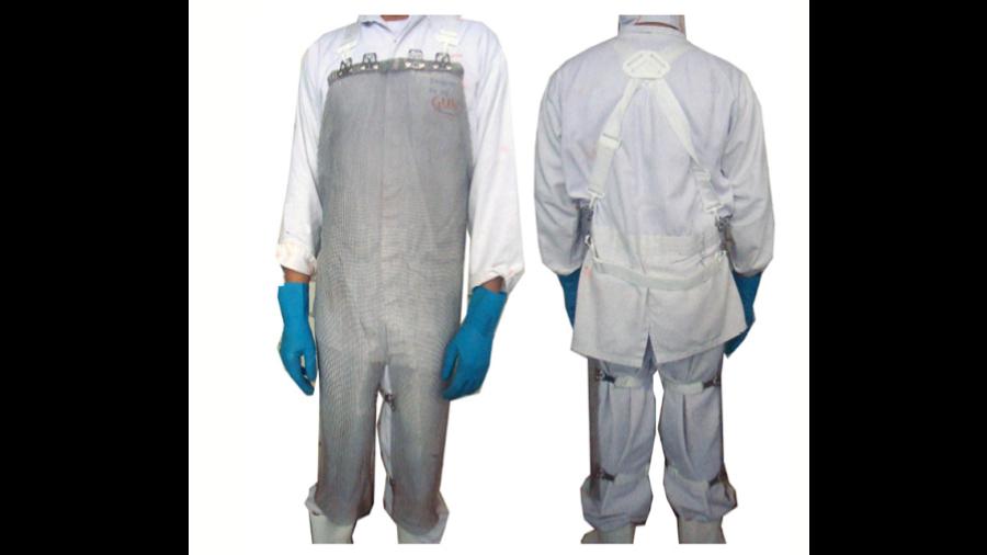 Vestimenta tipo Avental Malha de Aço PARINOX 100P