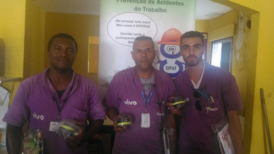 LEAL Participa de SIPAT em Contratada de Telefonia