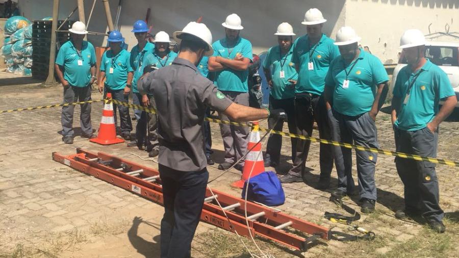 LEAL Realiza Treinamento de 16h em Contratada no Rio de Janeiro