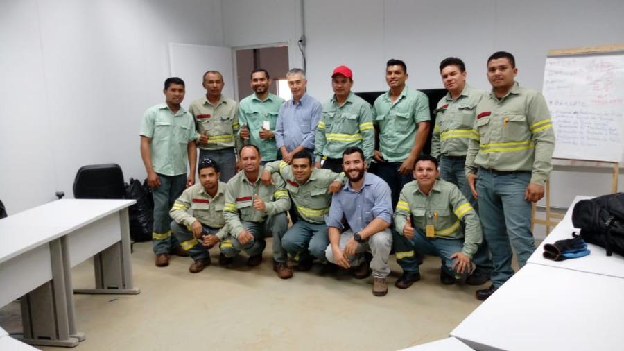 LEAL Realiza Treinamento em Mineradora