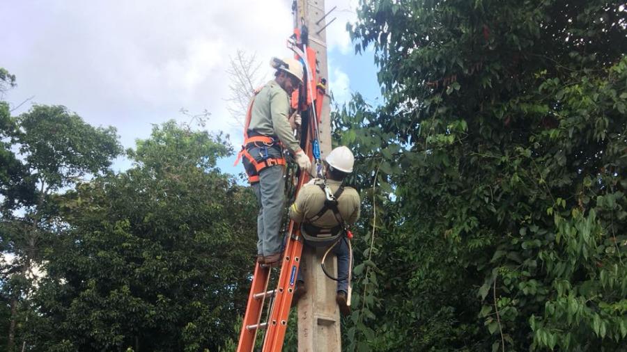 Treinamento de NR35 em Mineradora
