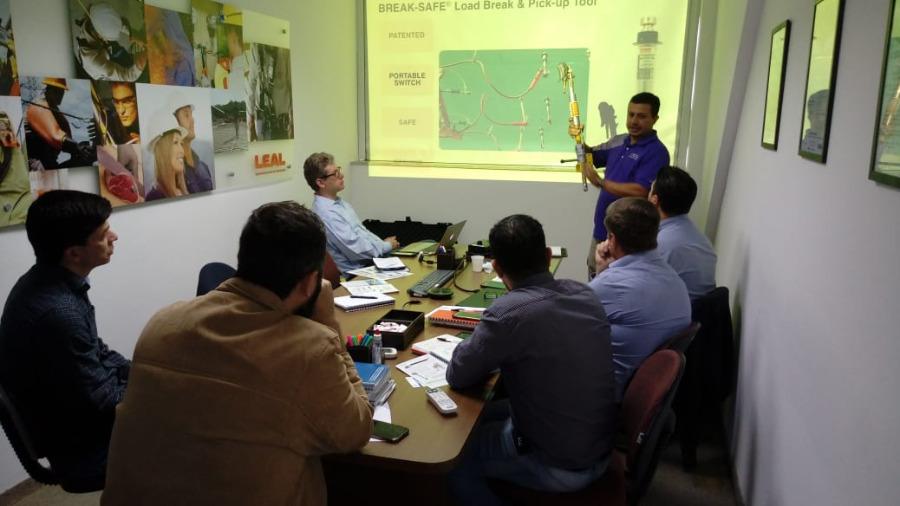 LEAL Recebe Visita e Palestra da Utility Solutions