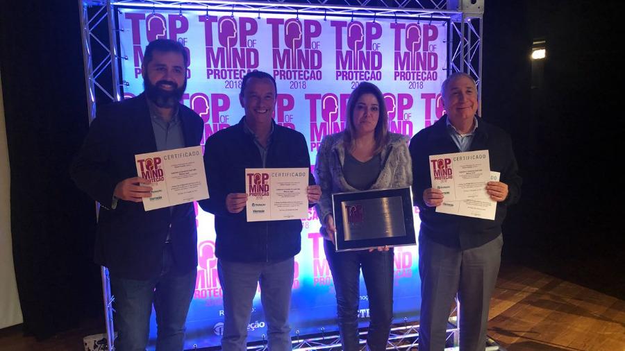 Prêmio Top of Mind Proteção 2018